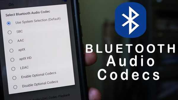 TOP 5 zvukových kodeků Bluetooth - aptX (HD), LDAC, AAC a SBC