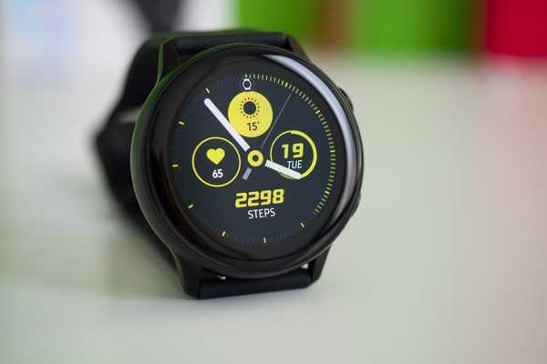 Intelligens óra Samsung Galaxy Watch Active 2