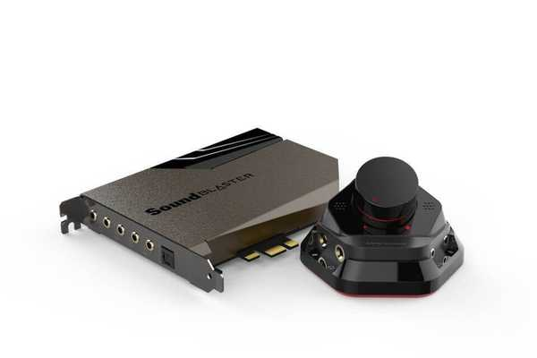 Звукови карти за аудиофили от Creative Sound Blaster AE-7 и AE-9