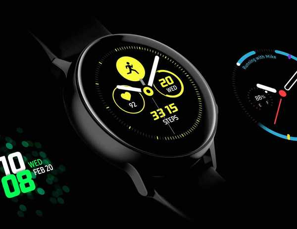 Pametna ura Samsung Galaxy Watch Active - prednosti in slabosti
